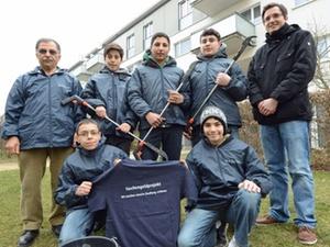 Beschäftigungsprojekt: Taschengeld für ein sauberes Wohnumfeld