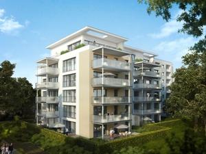 Bereitstellung Wohnraum: 17 neue Wohnungen Stadtgartenpalais