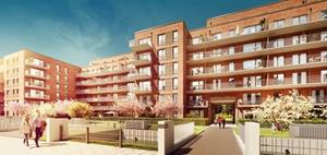 Baukooperative errichtet 207 neue Wohnungen in Hamburg-Barmbek