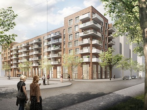 Projekt: Otto Wulff baut 47 Neubauwohnungen in Hamburg