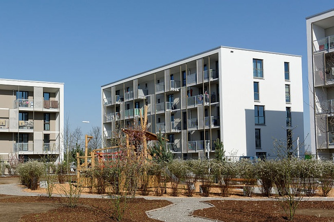 m nchen gewofag stellt 198 neue wohnungen in riem fertig immobilien haufe. Black Bedroom Furniture Sets. Home Design Ideas