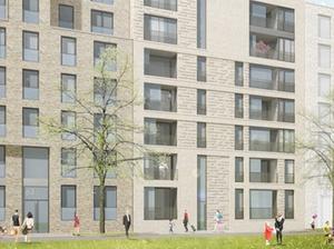 Architektenentwürfe für Mitte Altona