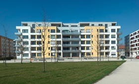 Neuer Wohnblock