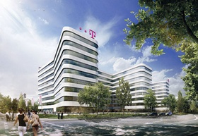 Neues Telekom-Gebäude in der Hamburger City Nord