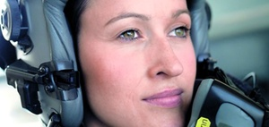 """Im Auge des Sturms"" - Eurofighter-Pilotin Baumann im Interview"