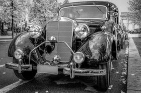 Oldtimer Daimler Mercedes