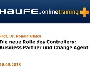 """Online-Seminar """"Die neue Rolle des Controllers"""""""