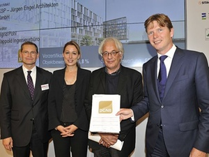 """DGNB-Gold-Vorzertifizierung für """"Humboldt Hafen Eins"""" in Berlin"""