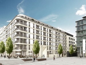 Pariser Höfe im Stuttgarter Europaviertel offiziell eröffnet