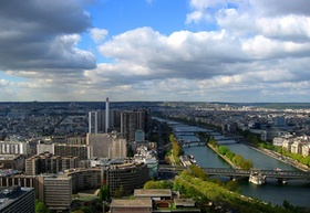 Paris_Frühling_Stadtansicht