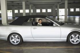 Parkendes Auto