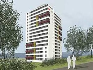 Passivhochhaus: Vermietungsbeginn von 105 Wohnungen