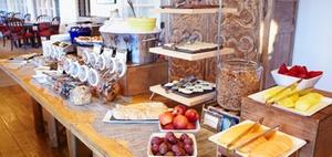 Aufteilung von Hotelumsätzen für die Bewertung des Frühstücks