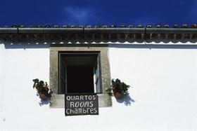 Pension Hotel Spanien rustikal