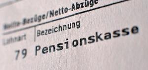 Privat finanzierte Leistungen zu Pensionskassen