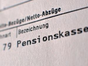 Sonderzahlungen an Pensionskassen