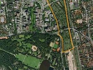 Hamburg Pergolenviertel: Kombination Wohnungsbau Kleingärten