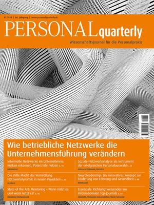 PERSONAL quarterly Ausgabe 2/2014 | PERSONALquarterly