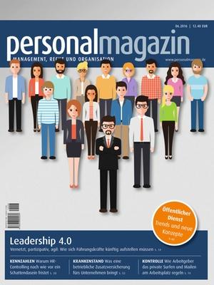 Personalmagazin Ausgabe 6/2016 | Personalmagazin