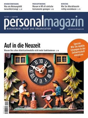Personalmagazin Ausgabe 10/2011 | Personalmagazin