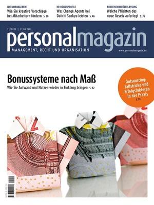 Personalmagazin Ausgabe 11/2011 | Personalmagazin