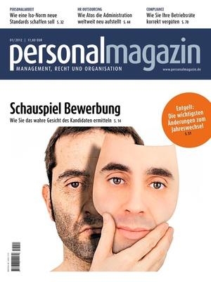 Personalmagazin Ausgabe 1/2012 | Personalmagazin