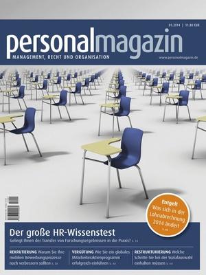 Personalmagazin Ausgabe 1/2014   Personalmagazin