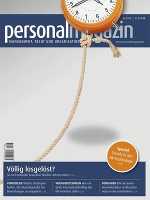 Personalmagazin Ausgabe 03/2015 | Personalmagazin