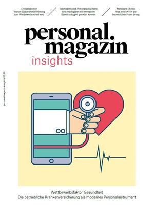 Personalmagazin Insights Wettbewerbsfaktor Gesundheit
