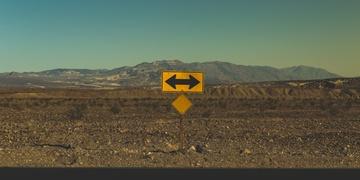 Pfeile Verkehrszeichen Prozess