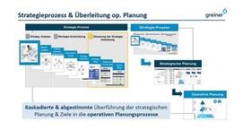 Strategieprozess und Überleitung zur operativen Planung bei der Greiner AG