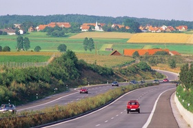 Autobahn Passing Farms