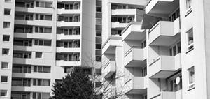 Sieben Prozent mehr Sozialwohnungen