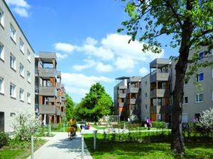 Qualitätssiegel Nachhaltiger Wohnungsbau: ausgezeichnet