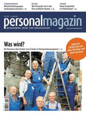 Personalmagazin Ausgabe 1/2009   Personalmagazin