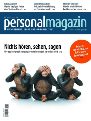 Personalmagazin Ausgabe 1/2011   Personalmagazin