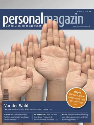 Demokratische Arbeitswelt | Personalmagazin