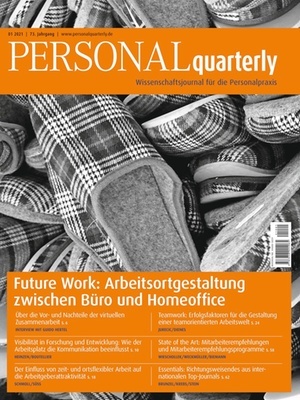 PERSONALquarterly 1/2021 Future Work | PERSONALquarterly