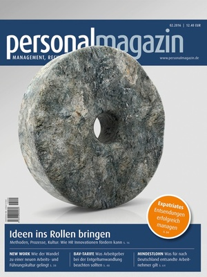 Personalmagazin Ausgabe 2/2016 | Personalmagazin