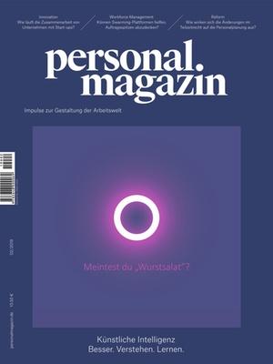 Personalmagazin Ausgabe 2/2019 Künstliche Intelligenz | Personalmagazin