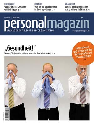 Personalmagazin Ausgabe 3/2009 | Personalmagazin
