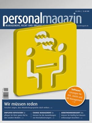 Personalmagazin Ausgabe 3/2016 | Personalmagazin