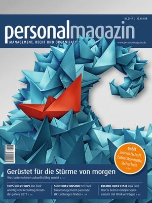 Personalmagazin 3/2017 | Personalmagazin