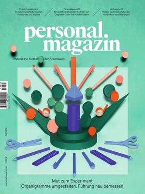 Personalmagazin Ausgabe 3/2019 Organisationsmodelle | Personalmagazin