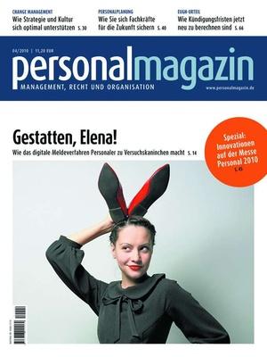 Personalmagazin Ausgabe 4/2010 | Personalmagazin
