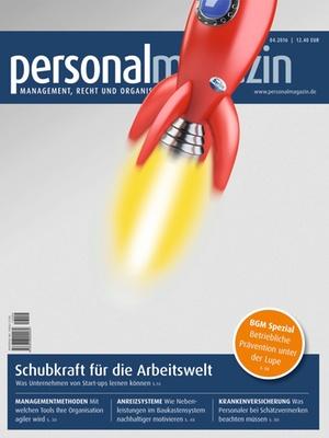 Personalmagazin Ausgabe 4/2016 | Personalmagazin