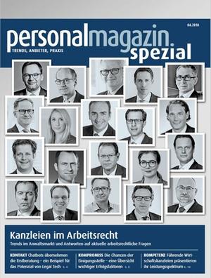 Kanzleien im Arbeitsrecht 2018
