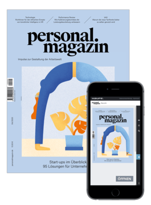 Personalmagazin Ausgabe 4/2020 Start-ups | Personalmagazin