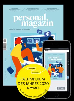 Personalmagazin Ausgabe 4/2021 | Personalmagazin