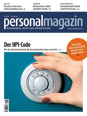 Personalmagazin Ausgabe 5/2009   Personalmagazin
